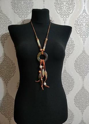 Колье, ожерелье в этническом стиле, бохо.