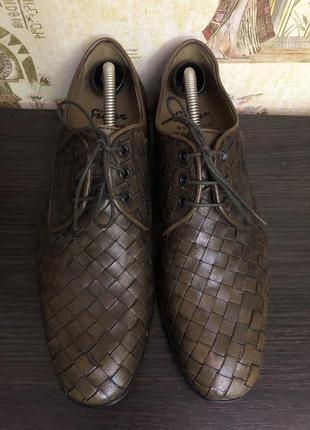 Новые немецкие мужские туфли sioux