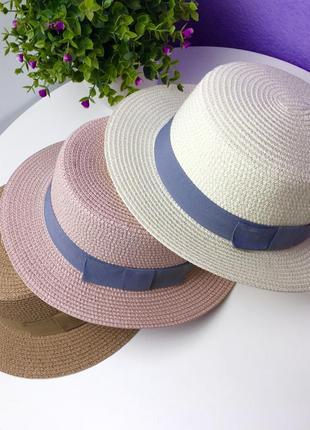 Шляпы канотье 2021💖