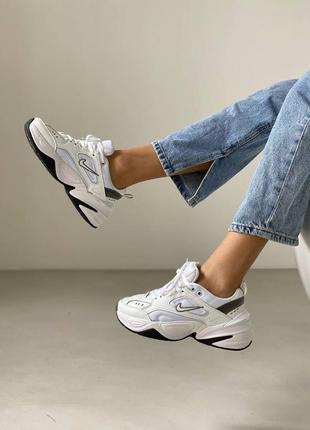 Кроссовки найк, спортивные кроссовки, кожаная обувь
