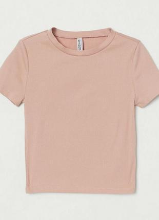 Розовый топ, розовая футболка