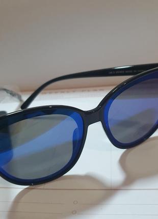 Большие очки с синим стеклом и защитой от солнца от mohito