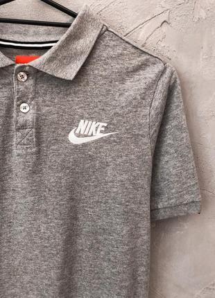 Nike поло футболка хлопковая легкая найк женская