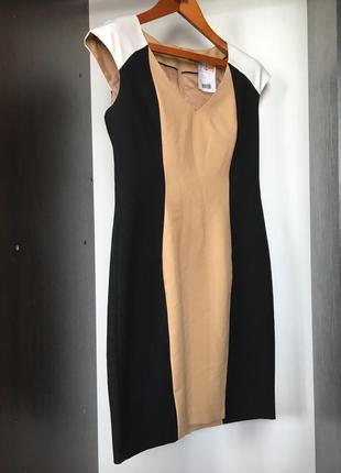 Платье сарафан офисное деловое сукня плаття миди