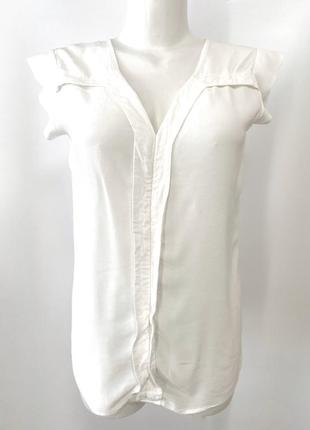 Белая блуза promod