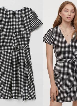 Платье в клетку h&m, divided