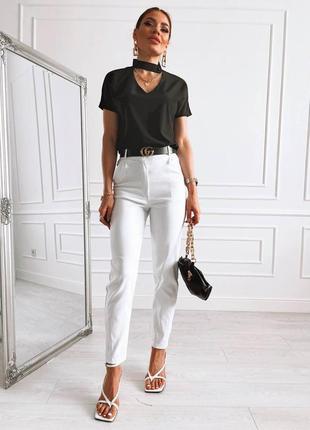 Идеально белые джинсы