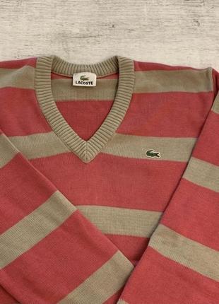 Милый свитер lacoste лакосте оригинал