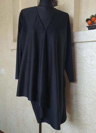 Блуза с ассиметричным низом cos