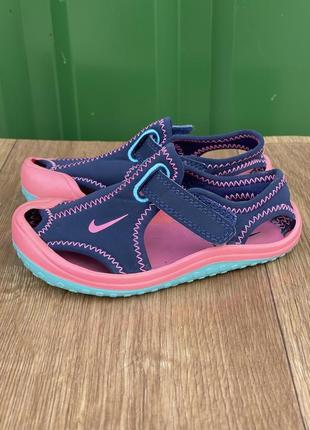 Nike сандали фирменные оригиналы 24 размер