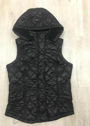 Next черная жилетка куртка, s-м