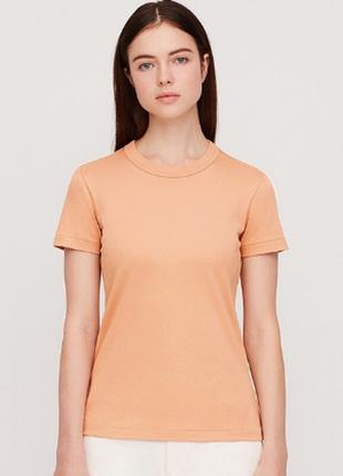 Женская качественная футболка хлопок uniqlo u