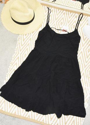 Новое многоярусное оверсайз платье h&m