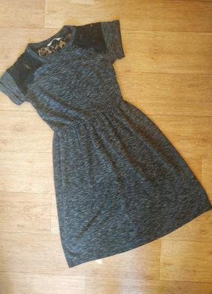 Женское темно-серое платье george