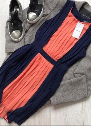 Нежное платье плиссе от mango, подчеркивает линию талии, сарафан, новый! ❤️