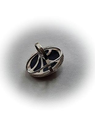 17.5 размер кольцо серебро с золотом авантюрин7 фото