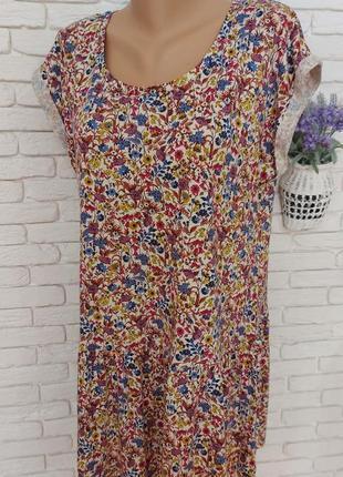 Комфортное летнее платье marks & spencer,пог 55