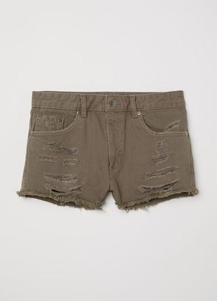 Новые джинсовые шорты h&m. размер 40
