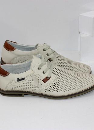 Кожаные туфли  / мужские туфли натуральная кожа