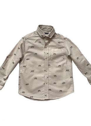 Класическая рубашка для мальчика