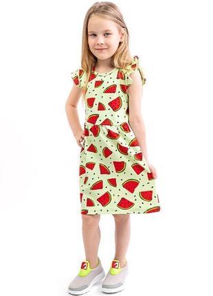 Платье для девочек, салатовое