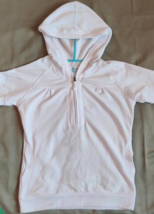 Женская футболка на молнии с капюшоном tcm tchibo sport tech
