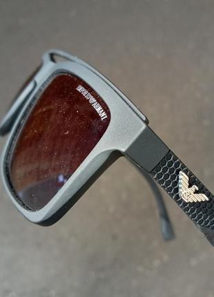 Крутые очки а матовой прорезиненной оправе поляризация в стиле вайфареры италия унисекс