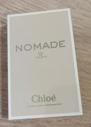 Chloe nomade eau de toilette туалетная вода