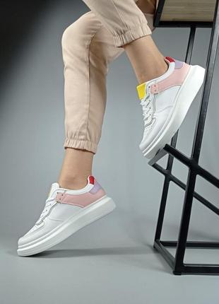 Крутые кроссовки эко кожа5 фото