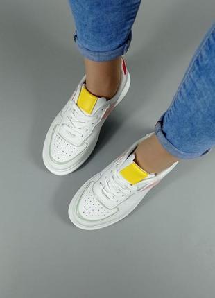 Крутые кроссовки эко кожа4 фото