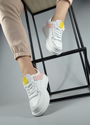 Крутые кроссовки эко кожа6 фото