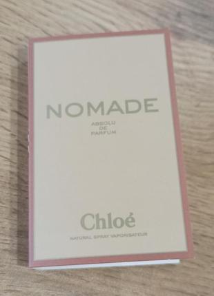 Chloe nomade absolu de parfum парфюмированная вода