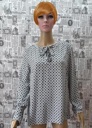 Стильная блуза s.oliver uk 14, наш 46-48, германия