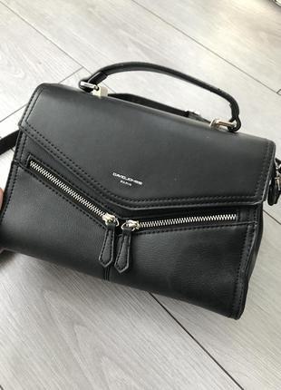 Черная сумка david jones