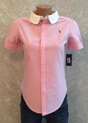 Блуза рубашка размер 6-8 ralph lauren