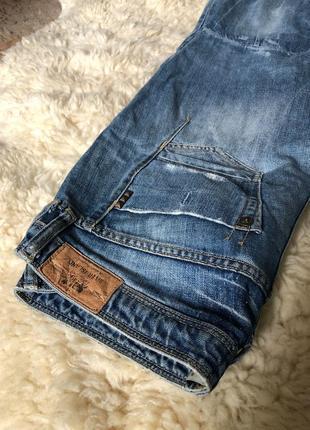 Прямые широкие джинсы river island с интересными деталями