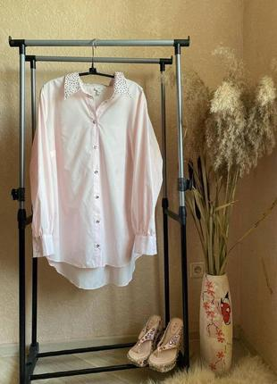 Новая стильная красивая рубашка river island 18 р