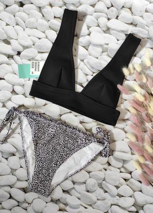 Актуальный купальник, топ, бикини, s 36 euro, h&m