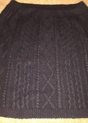 Вязанная акриловый юбка f&f