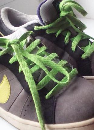 Кроссовки замшевые кожаные оригинал nike