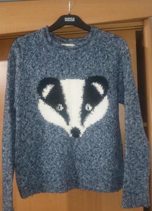 Мягкий тёплый свитер new look