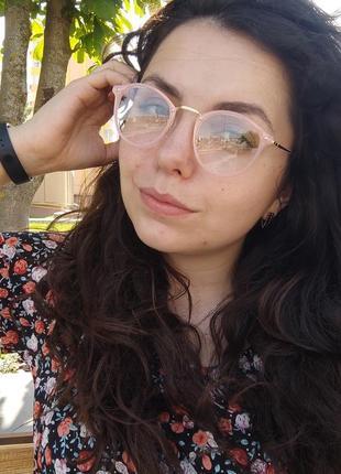 Компьютерные имиджевые очки / іміджеві окуляри / uv 400 / от излучения