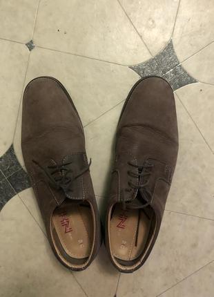 Туфлі шкіряні  великий 46 розмір
