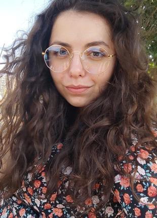 Имиджевые очки с защитой от электромагнитного излучения / іміджеві комп'ютерні окуляри / uv400