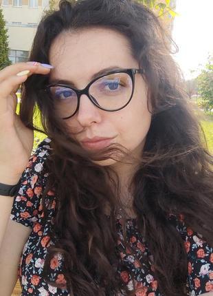 Имиджевые очки кошечки кошки / uv400 / іміджеві окуляри кішки лисички