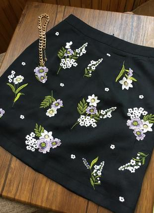 Спідниця, юбка, вишита, з вишивкою, принт