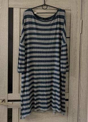 Вискозное платье