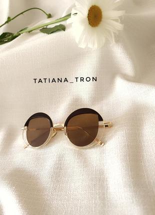 🍓 очки солнцезащитные  круглые