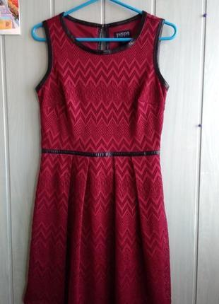 Красивое платье ажурное с отделкой