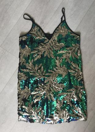 Платье с пайетками ( пайетки )